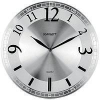 Часы настенные ход плавный, офисные SCARLETT SC-55N