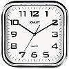 Часы настенные ход плавный, офисные SCARLETT SC-WC1003O
