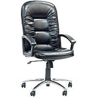 """Кресло руководителя """"Chairman 418"""" CH, экокожа чёрная, механизм качания"""