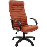 """Кресло руководителя """"Chairman 480"""" LT, экокожа коричневая, механизм качания"""