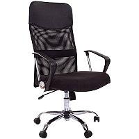 """Кресло руководителя """"Chairman 610"""", ткань чёрная, механизм качания"""