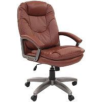 """Кресло руководителя """"Chairman 668"""" LT, экокожа коричневая, механизм качания"""