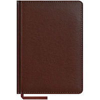 """Ежедневник недатированный А5 160л., кожзам """"Caprice"""", коричневый"""