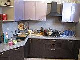 Кухня с синими фасадами, фото 4