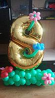 Цифра из фольгированного шара в Павлодаре, фото 1