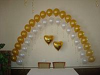 Арка из гелевых шаров в Павлодаре, фото 1
