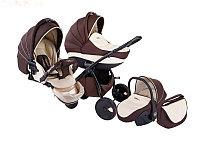 Детская коляска TUTIS ZIPPY кожа 3 в1