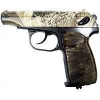 Пистолет пневм. МР-654К-23  (камуфляж обн. ручка)
