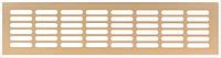 Решетка вентиляционная, алюминий, цвет золото,500 х 60 мм