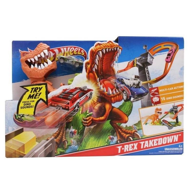 Hot Wheels T-Rex атакует