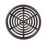 Решетка вентиляционная, D 60 мм, коричневая