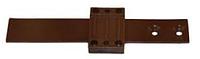 Комплект для двери холодильника, пластик, цвет коричневый