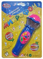 Детский музыкальный микрофон Play Smart