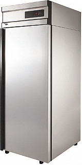 Холодильный шкаф с металлической дверью CМ105-G
