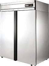 Холодильный шкаф с металлической дверью СM110-G