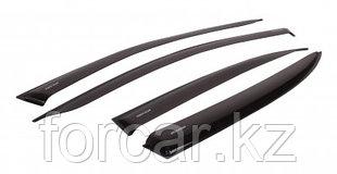 """Комплект дефлекторов """"LUX"""" для а/м Toyota Rav4 IV (CA40)   2012-... г.в."""