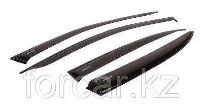 """Комплект дефлекторов """"LUX"""" для а/м Hyundai Solaris HB 2011-… г.в, фото 2"""