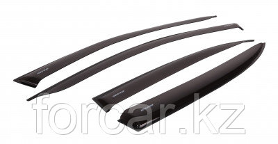 "Комплект дефлекторов ""LUX"" для а/м Skoda Yeti 2009-... г.в, фото 2"