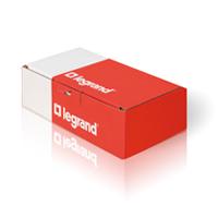Розетка с суппортом для DLP, 2М, с Механической Блокировкой, Красная