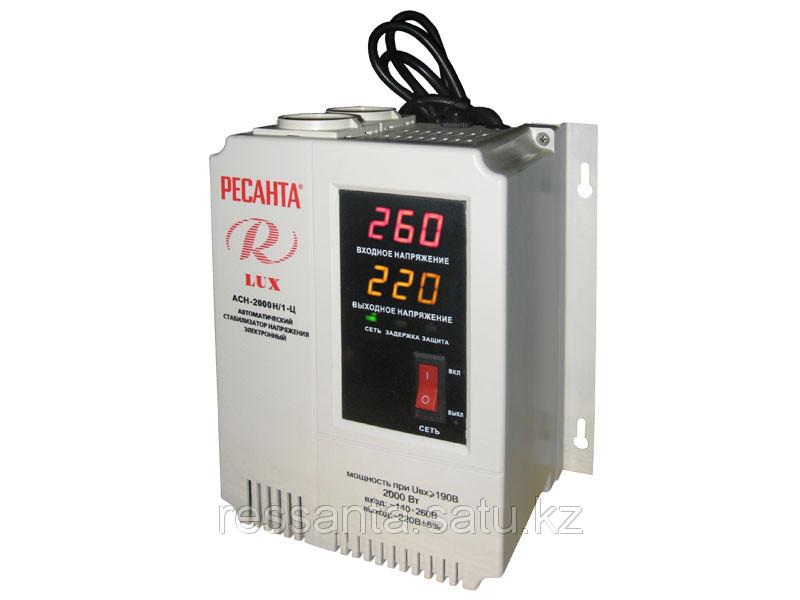 Стабилизатор напряжения Ресанта  ACH-2000Н/1-Ц люкс