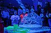 Шоу ультрафиолетовых пузырей в Павлодаре