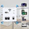 WI-FI точка доступа монтаж в стену 2 x LAN USB RJ11