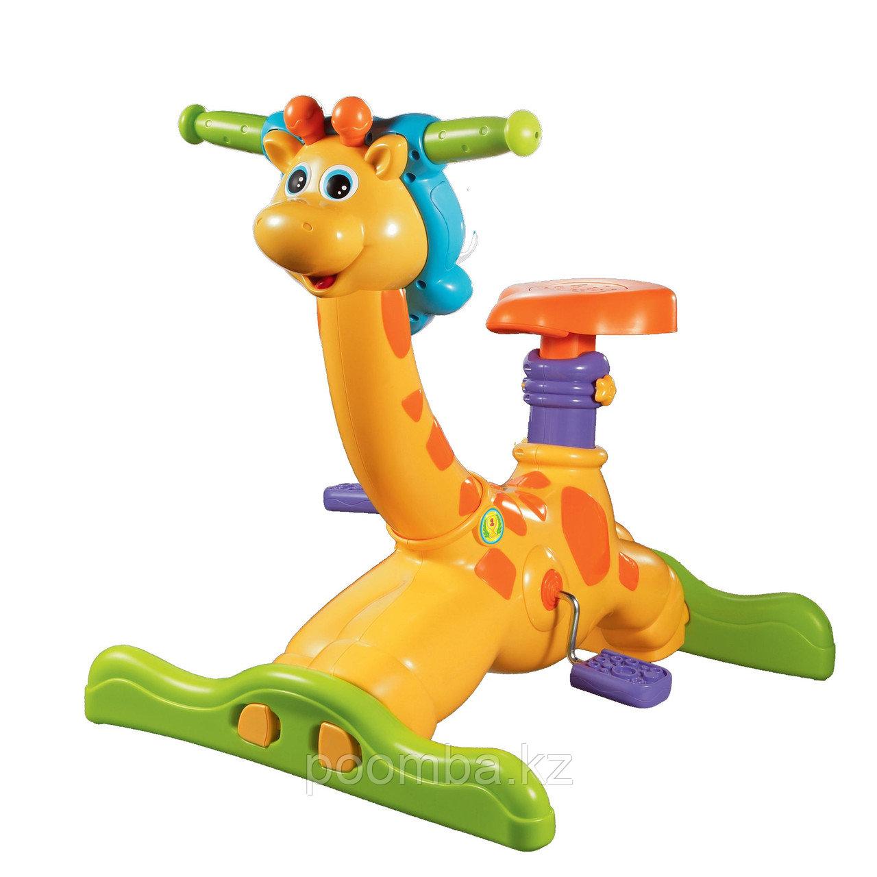 """Детская развивающая игрушка """"Жираф -тренажер"""". Велотренажер для детей """"Жираф"""""""
