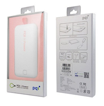 PQI Power Bank i-Power 3300, 3300mAh White/Pink
