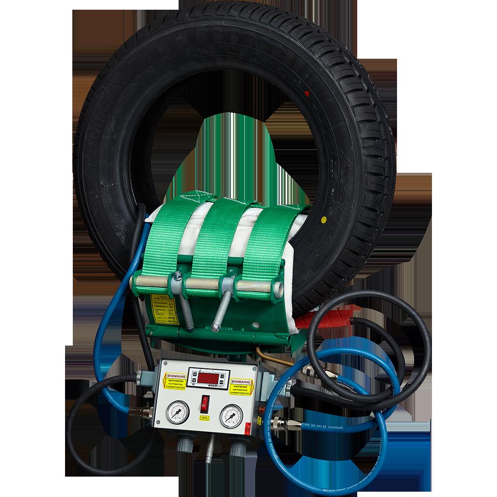 Вулканизатор 01012 (3 гибких нагревателя и 3 пневмоподушки в чехлах) КОМПЛЕКС-1