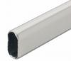 Гардеробная штанга, 30 × 15 × 0,8 мм, сталь 2,5 м.