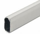 Гардеробная штанга, 30 × 15 × 0,8 мм, сталь 2,5 м., фото 1