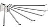 Держатель брюк ,сталь ,хром полированный 75х430х80мм на 6 брюк