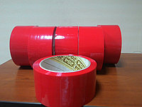 Красная липкая лента