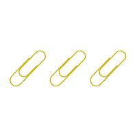 Скрепки 33мм, золотистые 100 шт
