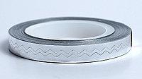Скотч-лента фольгированная,6мм.(зигзаг)., фото 1