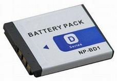 Аккумулятор Sony NP-BD1, фото 2