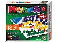 Игровой набор детская мозаика, классическая, 180 фишек, 6 цветов