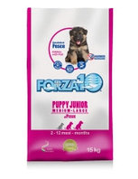 Cухой корм для щенков средних и крупных пород Forza10 Puppy Junior Medium/Large Pesce (рыба)