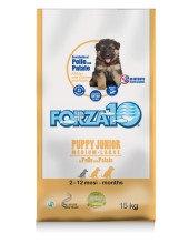 Cухой корм для щенков средних и крупных пород Forza10 Puppy Junior Pollo/pat. (курица, картофель)