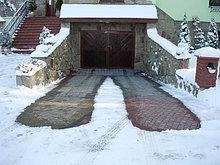 Кабельный обогрев - оттаивание снега и антиобледенение
