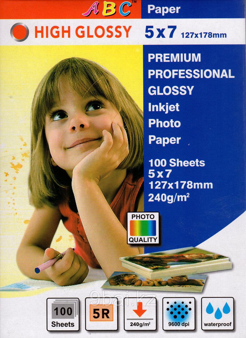 ABC 5R фотобумага глянец. 127х178, 240 гр.