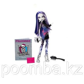 Monster High Spectra Vondergeist Picture Day. Школа Монстров Спектра на фотосессии