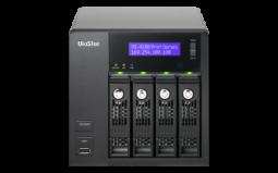 QNAP VS-4112 Pro+ IP-видеорегистратор сетевой, 12 каналов для записи видео, 4 отсека для HDD