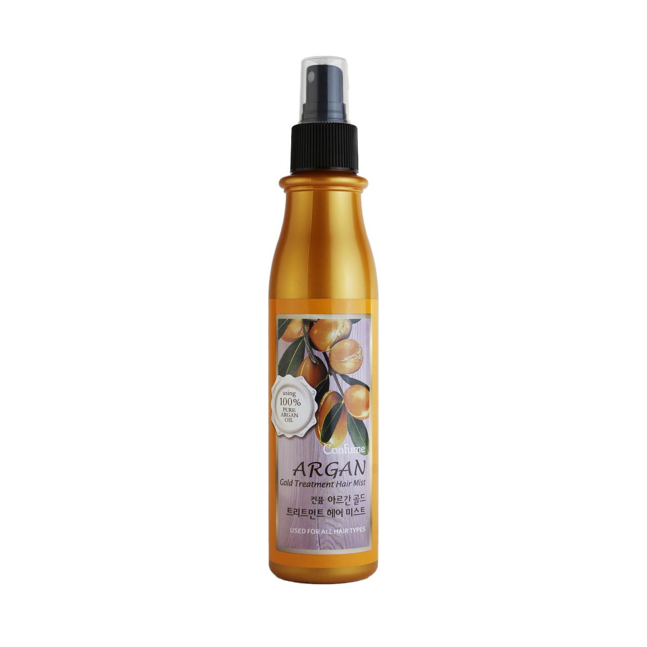 Welcos Argan Gold Treatment Hair Mist Спрей-мист для волос с аргановым маслом 200мл
