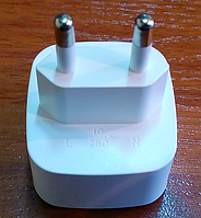 Переходник электрический LDNIO Z-1,белый, пластик., фото 1