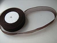 Лента - органза. Шоколад. 2,5 см. Creativ 1218