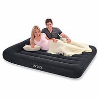 "66770, Intex, Надувной матрас с подголовником ""Pillow Rest Classic Bed"", 183х203х23см"