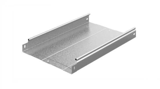 Металлический лоток неперфорированный 300х50х2500