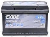 Аккумулятор Exide EA 722   72Ah