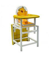Стул-стол для кормления DUCKY Желтый BABYS, фото 1